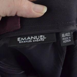 Emanuel Ungaro Skirts - $10 Deal! Emanuel Ungaro● Plum pencil skirt